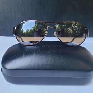 Dolce and Gabbana Case with Fossil Sunglasses